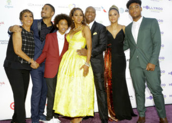HOLLY ROBINSON PEETE AND THE FAMILY HOST 20TH ANNUAL DESIGN CARE GALA EVENT