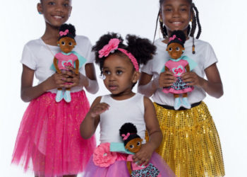 NEW SUPERHERO DOLL HOPES TO HELP BLACK GIRLS WITH DEPRESSION
