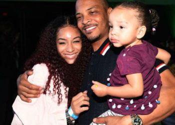 T.I AND FAMILY ATTEND THE 'GRAND HUSTLE' VIEWING PARTY IN ATLANTA