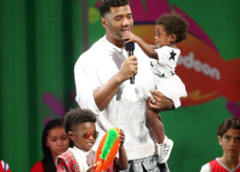 PHOTOS: THE WILSONS ATTEND THE 2018 KIDS' CHOICE SPORTS AWARDS