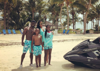 KEVIN HART AND FAMILY VACATION IN THE BAHAMAS