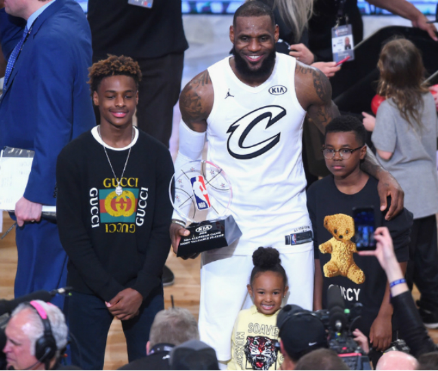 LEBRON JAMES JR. WILL PLAY BASKETBALL AT CROSSROADS SCHOOL