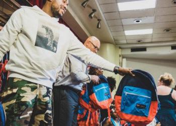 DADDY DO-GOODER: MEEK MILL DONATES 6,000 BACKPACKS TO PHILADELPHIA KIDS