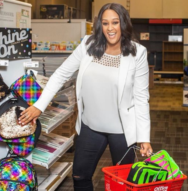 TIA MOWRY HAS ADVICE FOR PARENTS TRYING TO GET THEIR KIDS EXCITED ABOUT GOING BACK TO SCHOOL