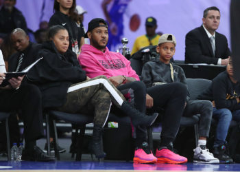 CARMELO ANTHONY AND LA LA ANTHONY ARE IN SOUTH AFRICA FOR A GOOD CAUSE