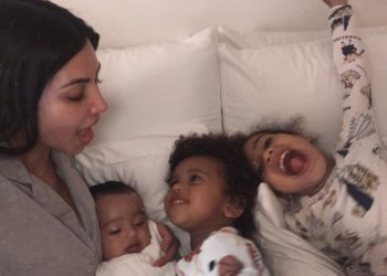 SAINT AND NORTH WEST ARE ENJOYING THE YACHT LIFE WITH THEIR MOM KIM KARDASHIAN