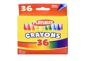 CAUTION: ASBESTOS FOUND IN SOME PLAYSKOOL CRAYONS