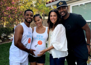 LARENZ TATE AND WIFE EXPECTING FOURTH CHILD