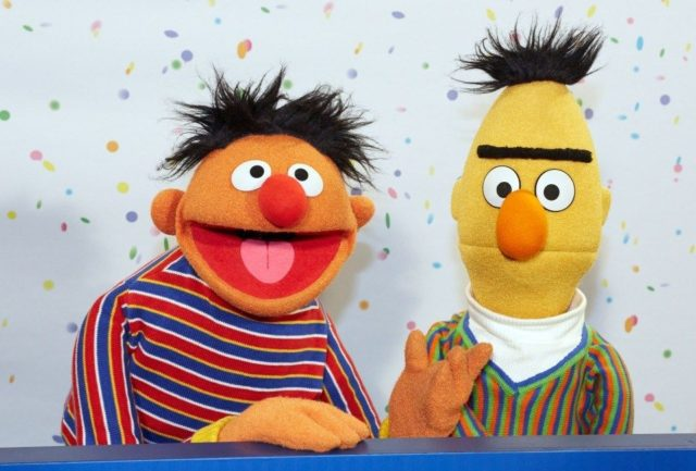 """""""SESAME STREET"""" SAYS THAT BERT AND ERNIE ARE NOT A COUPLE"""