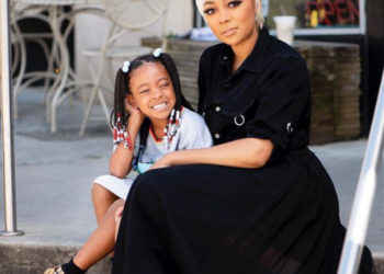 MONICA BROWN AND DAUGHTER HAVE A GIRLS DAY WITH TINY HARRIS AND LETOYA LUCKETT