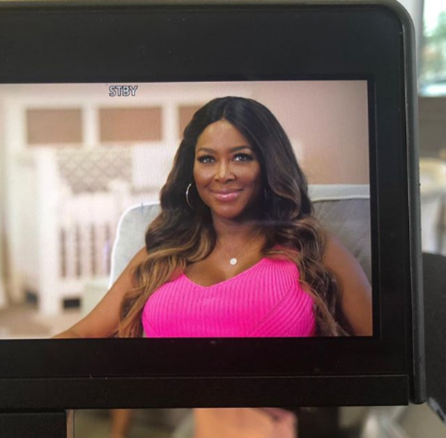 KENYA MOORE RUMORED TO BE FILMING BABY SPECIAL AS DELIVERY DUE DATE APPROACHES