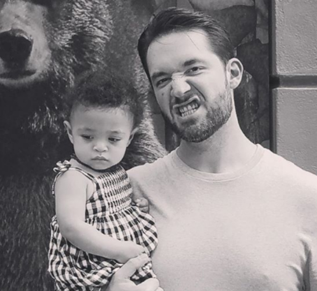 ALEXIS OHANIAN RESPONDS TO CRITICS WHO THOUGHT ALEXIS OLYMPIA SHOULD HAVE BEEN GIVEN A BIRTHDAY PARTY