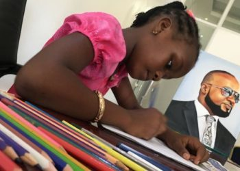 MEET SHEILLAH CHARLES, THE NINE-YEAR-OLD KENYAN ARTIST