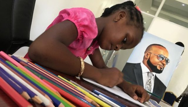 MEET SHEILLAH CHARLES, THE NINE-YEAR-OLD KENYAN ARTIST