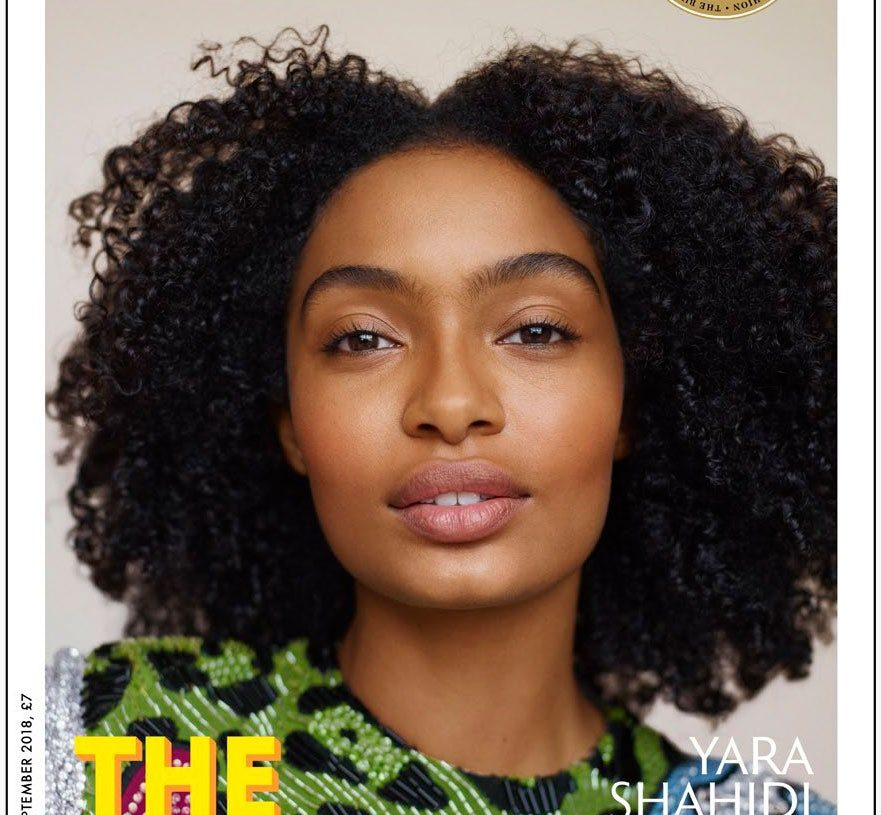 "YARA SHAHIDI COVERS SIXTH ANNUAL ISSUE OF ""BUSINESS OF FASHION MAGAZINE"""
