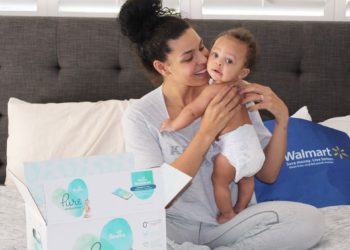 YOUR FAVORITE CELEBS LOVE PAMPERS PURE