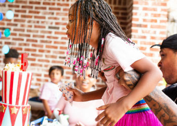 LAIYAH BROWN CELEBRATED HER FIFTH BIRTHDAY WITH A 'BIG TOP CARNIVAL'