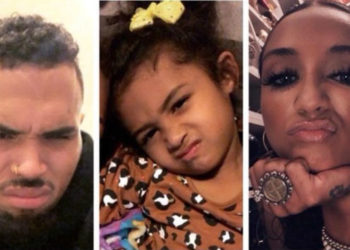 NIA GUZMAN TELLS DAUGHTER, ROYALTY, THAT CHRIS BROWN IS A DEADBEAT DAD