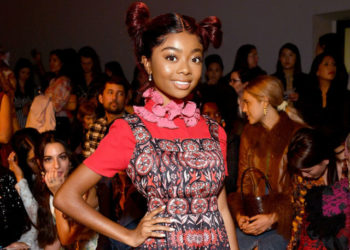 SKAI JACKSON SLAYS FASHION WEEK WITH DIFFERENT HAIRSTYLES