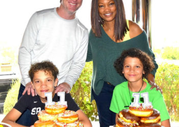 GARCELLE BEAUVAIS AND EX-HUSBAND MIKE NILON COME TOGETHER TO CELEBRATE SONS' BIRTHDAYS