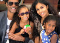 ERIC BENET AND THE FAMILY ARE PICTURE PERFECT