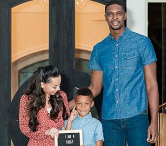 CHRIS BOSH'S SON HAS NO IDEA WHAT A BALLER IS