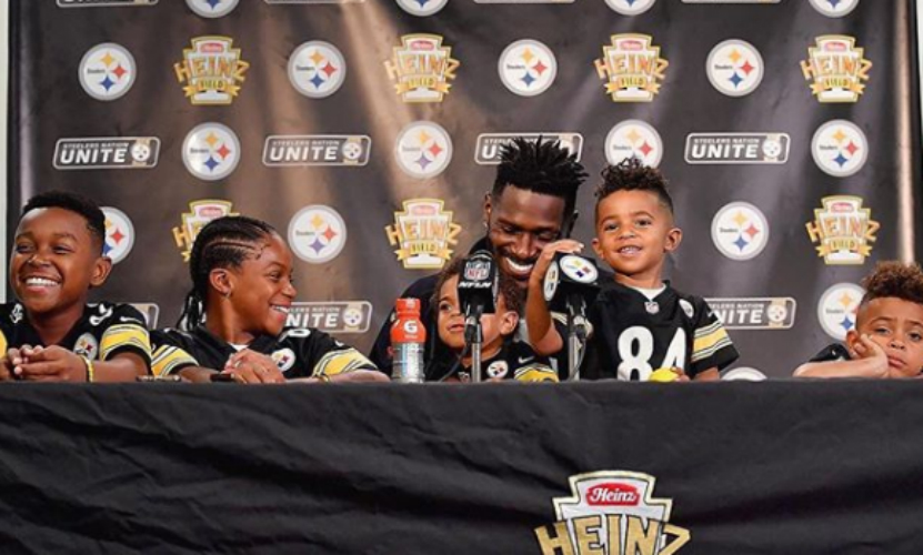 TAKE A LOOK AT A DAY IN THE LIFE OF ANTONIO BROWN AND HIS KIDS
