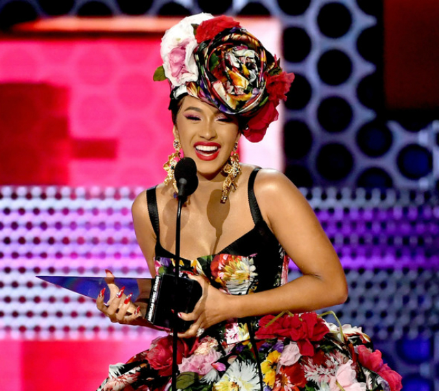 CARDI B THANKS BABY KULTURE AT AMERICAN MUSIC AWARDS, TALKS MOTHERHOOD WITH 'W' MAGAZINE