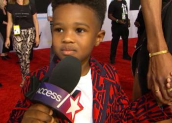 CIARA'S SON FUTURE ZAHIR STEALS THE SPOTLIGHT AT THE AMERICAN MUSIC AWARDS