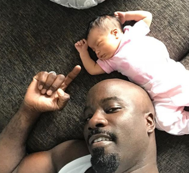 MIKE COLTER WELCOMES A DAUGHTER IN THE MIDST OF 'LUKE CAGE' CANCELLATION