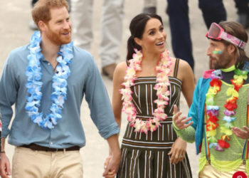 MEGHAN MARKLE BUMPS IT UP ON THE ROYAL TOUR