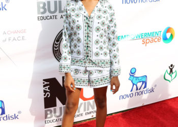 SKAI JACKSON AND OTHERS ATTEND THIRD ANNUAL SAY NO BULLYING FESTIVAL