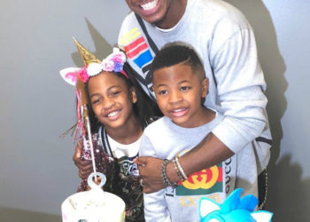 NE-YO AND MONYETTA SHAW HOLD ANNUAL JOINT BIRTHDAY PARTY FOR THEIR KIDS