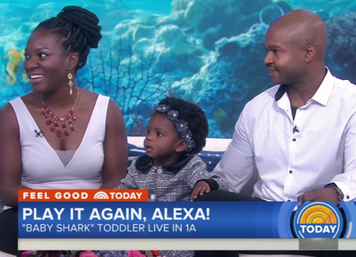 VIRAL KIDS: 'BABY SHARK' TODDLER, ZOE TURNER, STEALS HEARTS ON THE 'TODAY' SHOW