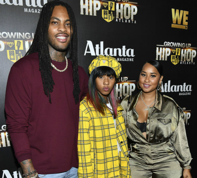 WAKA FLOCKA, KENYA MOORE, AND MORE ATTEND THE 'GROWING UP HIP HOP' PREMIERE PARTY
