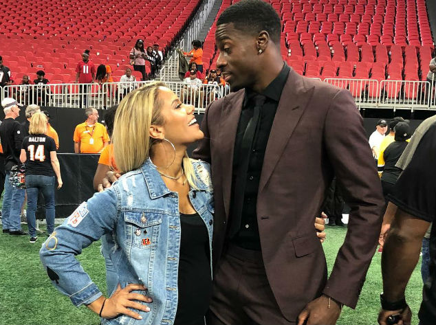 A.J. GREEN AND MIRANDA BROOKE ARE HAVING ANOTHER BABY!