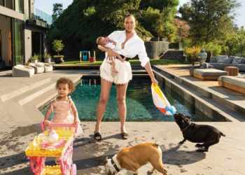 CHRISSY TEIGEN AND KIDS FEATURED IN 'VOGUE' MAGAZINE