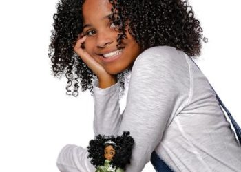 KID ACTIVIST MARI COPNEY HAS A DOLL MODELED AFTER HER