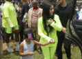 KIM KARDASHIAN AND NORTH WEST JOIN KANYE WEST IN AFRICA
