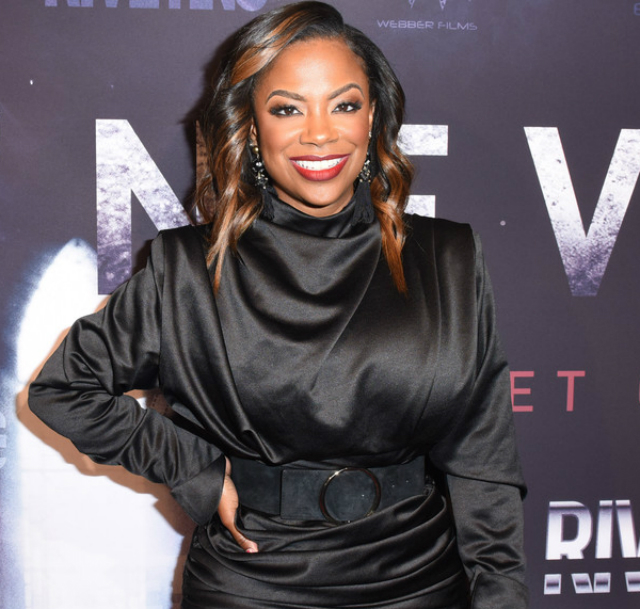 'RHOA' STAR KANDI BURRUSS IS GOING TO USE A SURROGATE TO CARRY HER BABY GIRL