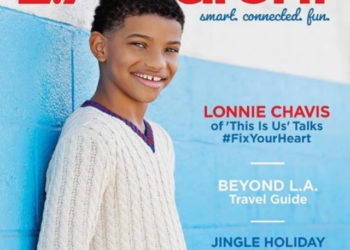 'THIS IS US' STAR LONNIE CHAVIS COVERS 'L.A. PARENT' MAGAZINE