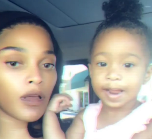 SOCIAL MEDIA PRAISES JOSELINE HERNANDEZ FOR TEACHING HER DAUGHTER BONNIE BELLA SPANISH