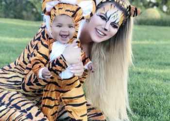 KHLOE KARDASHIAN AND DAUGHTER TRUE THOMPSON WEAR MATCHING COSTUMES FOR HALLOWEEN 2018