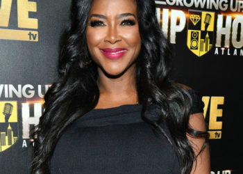KENYA MOORE SHARES SNEAK PEEK PIC OF BABY BROOKLYN, SAYS SHE WON'T BE ABLE TO WALK FOR A FEW WEEKS
