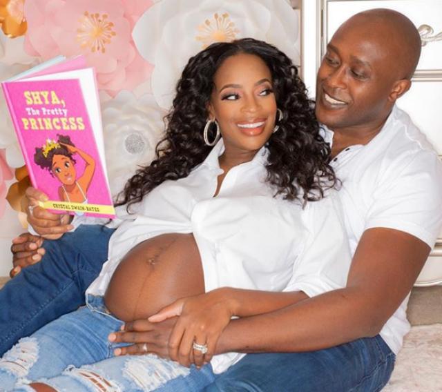 SHAMEA MORTON AND HUSBAND WELCOME A BABY GIRL