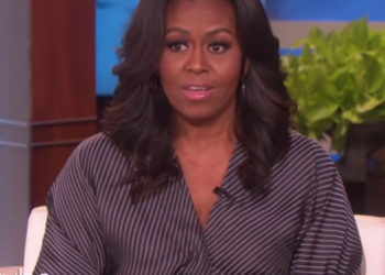 MICHELLE OBAMA TELLS ELLEN HOW SHE AND BARACK OBAMA SENT THEIR OLDEST DAUGHTER TO PROM
