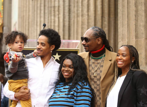 Snoop Dogg earns his own star on the Hollywood Walk of Fame