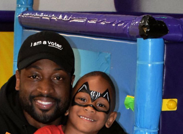 DWYANE WADE'S YOUNGEST SON, XAVIER WADE, CELEBRATES HIS FIFTH BIRTHDAY