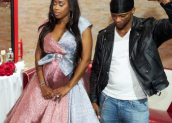 REMY MA AND PAPOOSE CELEBRATE AT THEIR BABY SHOWER
