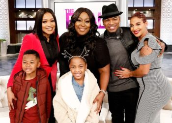BLENDED FAMILY: MONYETTA SHAW, NE-YO, AND CRYSTAL SMITH APPEAR ON 'THE REAL'